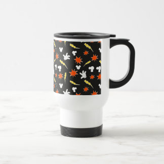 Mickey Mouse | Super Hero Icon Pattern Travel Mug