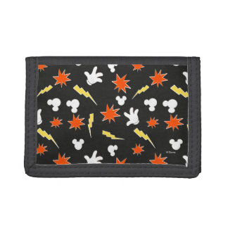 Mickey Mouse | Super Hero Icon Pattern Trifold Wallet