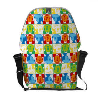 Mickey Pattern 7 Courier Bag