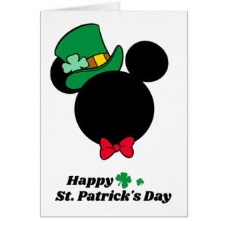 Mickey | St. Patrick's Day Icon Card