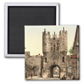 Micklegate Bar, York, Yorkshire, England Magnet