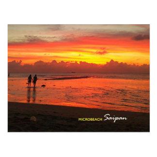 Micro Beach, Saipan Postcard