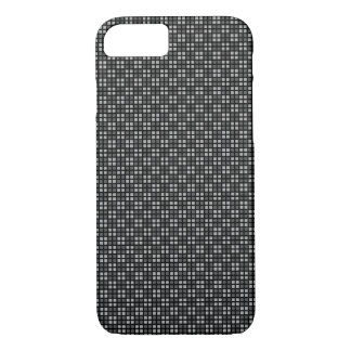Micro Checkered Black iPhone Protector iPhone 7 Case