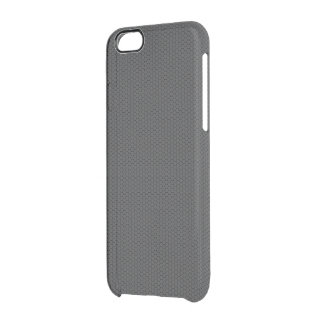 Micro Hexagonal Honeycomb Carbon Fibre Clear iPhone 6/6S Case