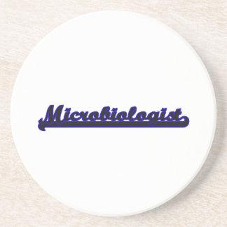 Microbiologist Classic Job Design Coaster