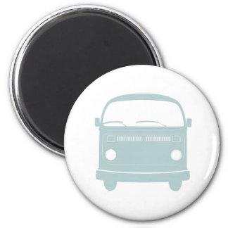 Microbus 6 Cm Round Magnet