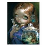 """Microcosm:  Sea Monsters"" Postcard"