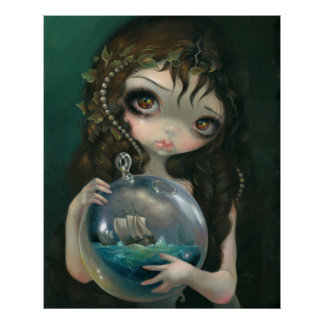 Microcosm: Seascape ART PRINT Pop Surrealism