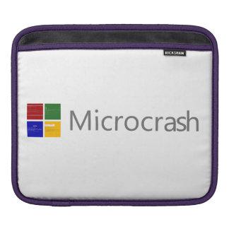 Microcrash Screen of Death Logo iPad Sleeve