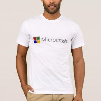 Microcrash Screen of Death Logo T-Shirt
