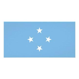 Micronesia Flag Photo Cards
