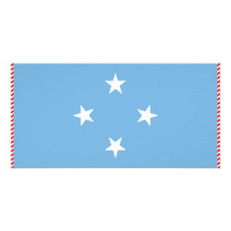 Micronesia Flag Picture Card