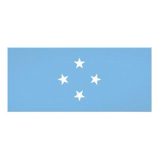 Micronesia Flag Rack Card