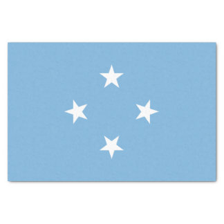 Micronesia Flag Tissue Paper