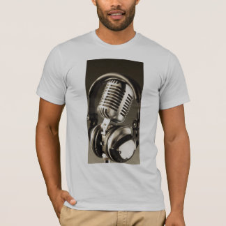 Microphone and Headphone T-Shirt