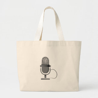 Microphone Canvas Bags