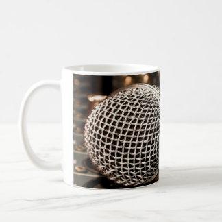Microphone Basic White Mug