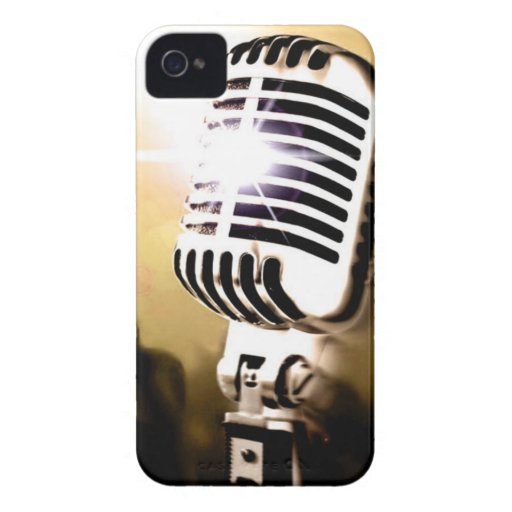 Microphone BlackBerry Bold Case Cover