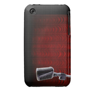 Microphone BlackBerry Phone Case iPhone 3 Case
