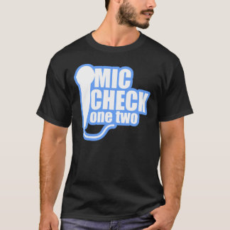 Microphone Checker T-Shirt