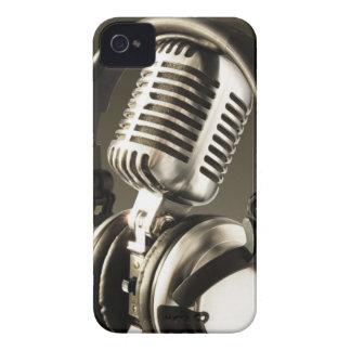 Microphone & Headphone BlackBerry Bold Case Cover