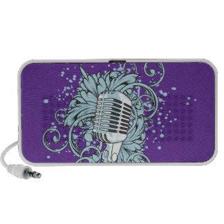 Microphone Mini Speakers for iphone ipads