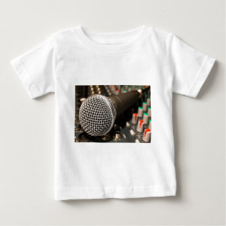 Microphone Mixer Cable Microphone Cable Singing Baby T-Shirt