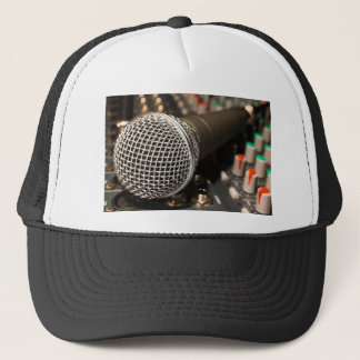 Microphone Mixer Cable Microphone Cable Singing Trucker Hat