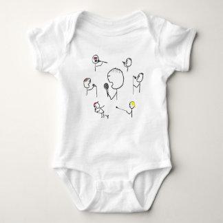 Microphone Styles Baby Bodysuit