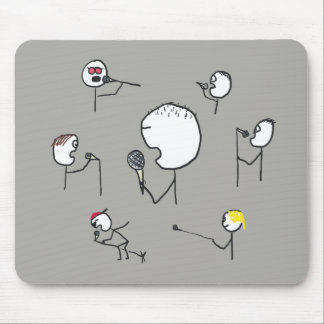 Microphone Styles Mouse Pad