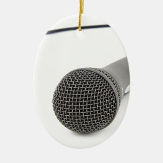 Microphone - Talk to me Ceramic Ornament