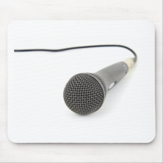 Microphone - Talk to me Mouse Pad