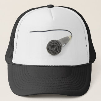 Microphone - Talk to me Trucker Hat