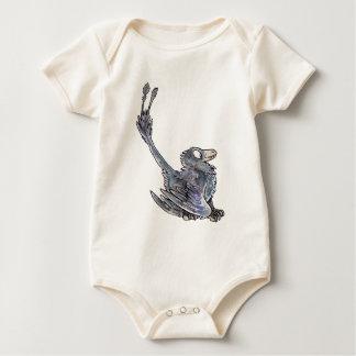 Microraptor Baby Bodysuit