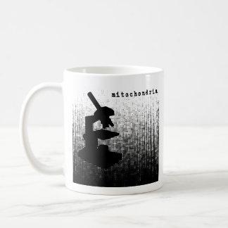 Microscope Dot Pattern Coffee Mug