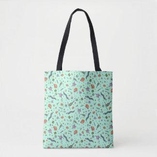 Microscopic Animals Tote Bag