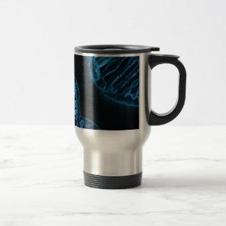 Microscopic Code of Life DNA Double Helix Travel Mug