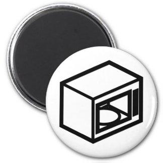 Microwave 6 Cm Round Magnet