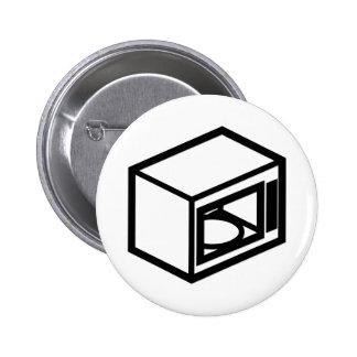 Microwave Pinback Button