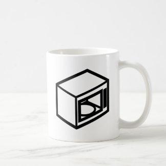 Microwave Basic White Mug