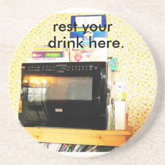 """Microwave Coaster"" Drink Coaster"