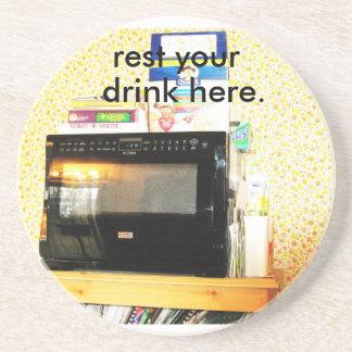 """Microwave Coaster"" Drink Coaster"