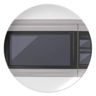 Microwave Dinner Plate