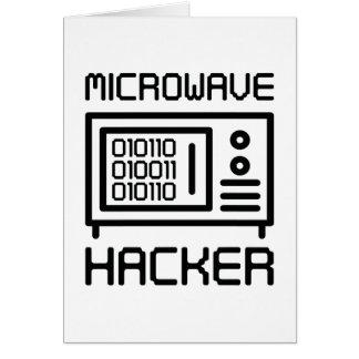 Microwave Hacker Card