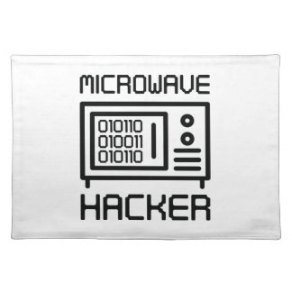 Microwave Hacker Placemat