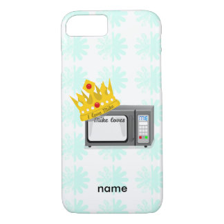 Microwave is King of the Kitchen Crown iPhone 7 Case
