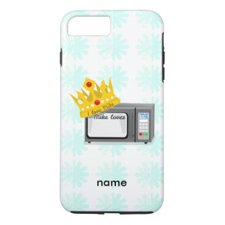 Microwave is King of the Kitchen Crown iPhone 7 Plus Case