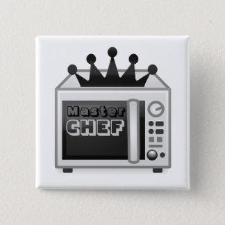 Microwave Master Chef 15 Cm Square Badge