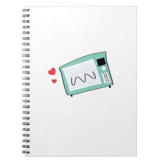 Microwave Spiral Note Books
