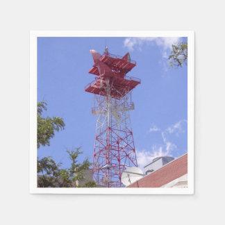 Microwave Relay Radio Telecom Tower Disposable Napkins